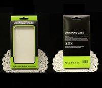 Teléfono móvil 500pcs! Universal del caso del paquete Papel Kraft Brown al por menor Caja de empaquetado para el iphone 7 6 6s para Samsung S7 156 * 90 * 15MM