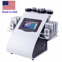 Yüksek Kalite Yeni Model 40 K Ultrasonik Liposuction Kavitasyon 8 Pedler Lazer Vakum RF Cilt Bakımı Salon Spa Zayıflama Makinesi Güzellik Ekipmanları