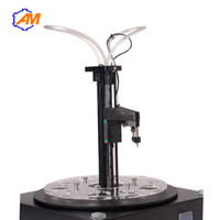 разливочная машина с перистальтическим насосом 5-100 мл / мин с жидким наполнителем для кислот, растворителей, духов, разливочная машина для пищевых масел