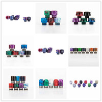 15 Styles Resin Metal 510 Drip Tips ceramic dripper Tip for ...