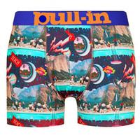 Biancheria intima maschile Pullin Mens Boxer 03 Nuovo stile Traspirante Uomo Underpants Tirare in Designer Brand Brand Stampa 3D moda