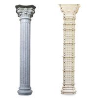 bahçe villa ev ev için plastik roman beton kolon kalıpları Çoklu stillerinize avrupa ayağı kalıp yapım kalıpları ABS