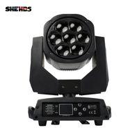 Shehds 큰 꿀벌 눈 7x15W LED 이동 헤드 줌 기능 DMX 512 워시 라이트 RGBW 4in1 빔 효과 라이트 파티 / 바 / DJ / 무대 조명