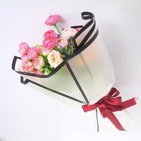 200pcs flor de embalaje de papel hecho a mano Material Floristería material de bricolaje Ramo Paquete festival de papel de regalo el envío libre 001