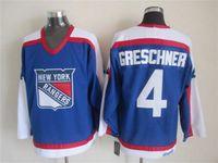 New York Rangers 99 Wayne Gretzky Hockey maglie Vintage Blu Bianco Nero 7 11 25 Arancione
