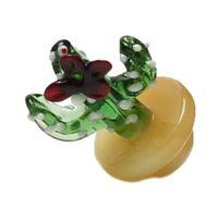 Più nuovo Glass colorato solido Cautus UFO tappo di carboidrati cupola per bicchiere di vetro con tubi dell'acqua DAB Oil Rigs Thermal P al quarzo Banger chiodi