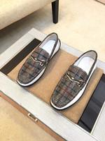 [Orignal Box] Neuer Luxus-Herren Diamant Formal Slip-On Gentleman Marke Brautkleid Antrieb Schuhe Größe 38-44