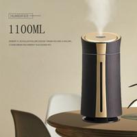 Hannord Air Curidifier USB Home Большая емкость 1100 мл Аромазатор масла Ультразвуковой воздушный распылитель Увлажнитель для офисного гама