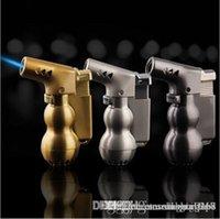금속 부탄 토치 총 라이터 제트 불꽃 방풍 리필 시가 라이터 주방 도구는 유리 hookahr에 대한 총 제트 화염 lighte 스프레이