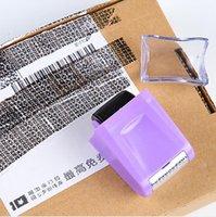 Seal roller Seal Disordy Code Codice Photosensitivo Capitolo Express Bill Privacy Protezione Protezione Scrivania Scrivania Accessori Scuola d'ufficio Forniture Ha619