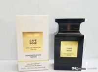 Wysokiej klasy neutralne perfumy dla kobiet i mężczyzn Cafe Rose 100ml EDP Chypre Floral Rose Frangrace Spray Butelka Długotrwała Darmowa Wysyłka