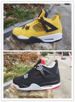 2019 New 4 bred black red yellow white 4s low men basketball...