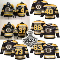 2019 Stanley Cup Boston Bruins St. Louis Blues 37 Patrice Bergeron 88 David Pastrnak 63 Marchand Hockey Jerseys