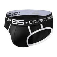 Sous-vêtements Soft Soft Soft Sexy Sous-villemeux Sous-vêtements pour hommes Orlvs Casual Shorts Coton BS107