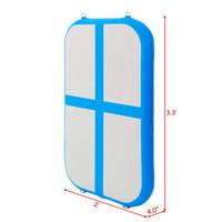 شحن مجاني البسيطة رياضة حصيرة نفخ الجمباز تعثر المسار الهواء كتلة الهواء حصيرة ل 0.6 متر * 1 متر * 0.2 متر أو حسب الطلب
