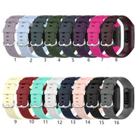 For Fitbit Charge 3 4 SE 3SE 4SE Silicone band Straps silico...