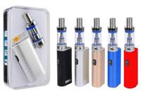 JomoTech Lite 40 Starter Kit kits Jomo 40W boîte mod mini kits de batterie de vaporisateur Bulit dans 2200mAh 3ml réservoir Lite e CIGS vapeur de cigarettes