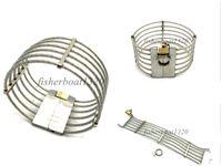 高品質の金属ネックカラーユニセックスワイヤースレーブネックカラーロック可能な方法AU653