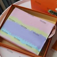 Pastellrosa-Kulturbeutel mit Kasten Designer Tie Dye Designer Kulturbeutel in Abbindebatik Mode Luxus-Kosmetik-Beutel kommen mit Kasten