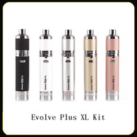 Evolve Plus XL Kit Wax Dab Vape Pen 1400mah Battery Unique Q...
