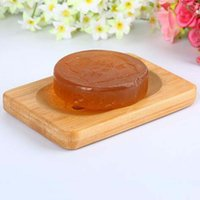 New Natural Bamboo Wooden Soap Dish Wooden Soap Tray Holder ...