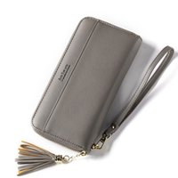 Tassel Women Purse Female New Zipper Wallet Female Card Hold...