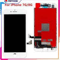 Лучшее Высокое Качество Для iPhone 7 Г 8 Г ЖК-Дисплей С Сенсорным Экраном Дигитайзер Ассамблеи Замена Запчастей Черный Белый бесплатная доставка