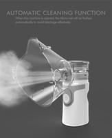 Portable Mini compresseur Asthma Inhaler Nébuliseur Medical Machine portable Automizer Masque de l'appareil pour la famille Etuve Adulte Enfant