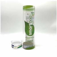 65 * 27mm smartbud barattoli ermetici odore prova anti-lattine contenitore perdite tirare anello di stagno con coperchio trasparente superiore per l'erba asciutta confezionamento vape