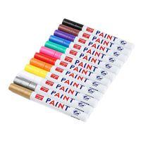 ماء ماركر القلم الاطارات قاعدة العجلة المطاطية غير الدائم يتلاشى ماركر القلم الطلاء ماركس يمكن القلم اللون الأبيض على معظم الأسطح DBC