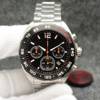 Luxury chronograph mens watches 44mm size CAL 1887 Quartz gl...