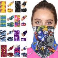 200 стилей Велоспорт шарф Маска пыль маски для лица Открытый платок лыжный ветер шапка Балаклавы мотоцикл маски для лица партии маски HH7-1351