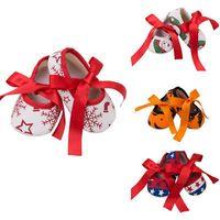 Emmababy 2019 nouveau-nés Enfants Baby Girl Boys First Walkers Noël papillon Noeud Chaussures mignon Premier Walkers