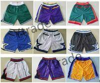 Melhor Qualidade 2019 New Shorts Team Calças Vintage Homens Shorts Zipper Bolso Running Corrida Calças Esportivas Melhor Qualidade