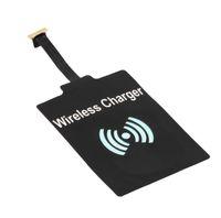 Universal Qi adaptateur de charge vitesse rapide du module récepteur de chargeur sans fil pour le type Samsung téléphone Android noir