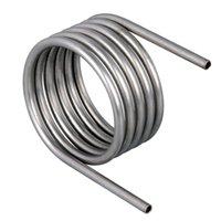 Титановая охлаждающая труба Gr2 для химической промышленности Продукция ASTM B338 Катушка изгиба титана Gr2 для гальваники