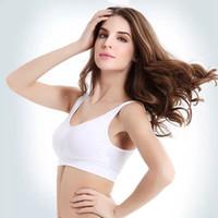 السيدات ملابس داخلية حمالة الصدر سلس مثير البرازيلي الخبر مقاسات الرياضة البرازيلي اليوغا الشكل براس البلوز ستوكات براس الجسم سترة FFA3685