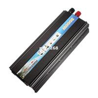 Freeshipping HOT-A1-00017 para saída de pico 2000W carro veículo USB DC 12V para AC 220V Power Inverter Adapter Converter - Preto