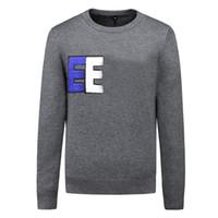 Männer Marke Pullover Brief Stickerei Strickwaren Winter Sweatshirt Rundhalsausschnitt Langarm Pullover für weibliche Designer Hoodies