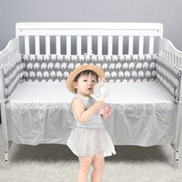 Cotton baby bed Bumpers Suitable for round bed square Cushio...