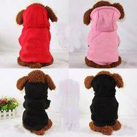 100% coton vêtements pour chien chiot pour petit chien manteau à capuche CC Sweat Costumes chiens Vestes XS-XXL 3 couleurs