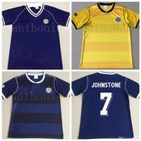 1986/87 İskoçya Retro Futbol Formaları Dalglish Gallacher McCoist 1978 1982/83 Lambert Futbol Gömlek S-XXL Johnston Vintage Klasik 1994/95 Footbol Eve Uzakta Gömlek