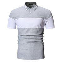 High Quality Mens Polo Shirts with Short Sleeve Summer Tops ...