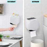 화장지 홀더 선반 벽은 화장실 용지 트레이 롤 종이 튜브 스토리지 박스 케이스 티슈 상자 욕실 홈 주방 랙 마운트