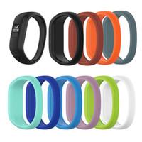 부드러운 실리콘 어린이 시계 밴드 팔찌 손목 끈 교체 Garmin Vivofit JR 스마트 시계 다채로운 시계 밴드 S / L 뜨거운