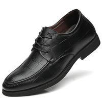 Hot Sale-Men Fashion Höhe erhöhen Aufzug Schuhe 5 cm unsichtbare Ferse für Party Hochzeit Daily Business Kleid Oxfords Männer Schuh