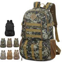 taktische rucksack tasche rucksack trekking 50L Molle Camo Armee Mochila Wasserdicht Wandern Jagd Rucksack Tourist Rucksack Outdoor Sporttasche