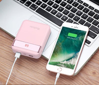 10000mAh Mini cover Custodie per mobile Power Bank 2 USB 2A yoobao Caricabatterie per telefono powerbank batterie externe portatile iphone x custodia di ricarica