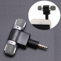 Portable Mini Stereo Microphone Mic Audio For Computer Lapto...