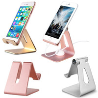 Phone Tablet Holder bureau antidérapante Support pour iPhone Pad Samsung pour mobile HUAWEI Support Support à